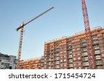 Apartment Building Block Of...