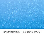 Drops Of Water On A Color...