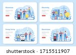 electricity works service web...   Shutterstock .eps vector #1715511907