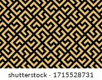 abstract geometric pattern. a...   Shutterstock . vector #1715528731