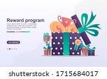 reward program and get gift...   Shutterstock .eps vector #1715684017