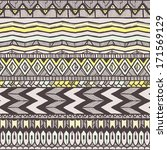 ethnic seamless pattern.... | Shutterstock .eps vector #171569129