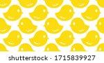 chick duck seamless pattern...   Shutterstock .eps vector #1715839927