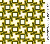 crosses  squares  figures... | Shutterstock .eps vector #1715934154