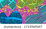 Bright Abstract Pattern  Modern ...