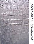 silver duck tape on a wall   Shutterstock . vector #1715971207