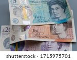 British Pound Sterling Notes....
