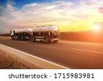 White Truck Witha Trailer...