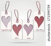 cute label vector eps10   Shutterstock .eps vector #171599759