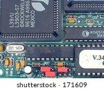 circuit board  great background ...   Shutterstock . vector #171609