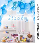 Baby Shower Party For Boy....