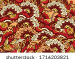 abstract zentngle background of ...   Shutterstock .eps vector #1716203821