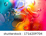 Macro Abstract Background Of...