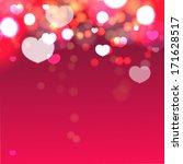 heart love valentine background   Shutterstock . vector #171628517