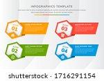 Hexagon Infographic Template...