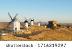Windmills Of Consuegra  Toledo  ...