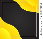 abstract vector background... | Shutterstock .eps vector #1716370054