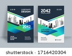 corporate book cover design... | Shutterstock .eps vector #1716420304