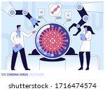 vector flat illustration of... | Shutterstock .eps vector #1716474574