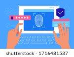 vector illustration in flat... | Shutterstock .eps vector #1716481537