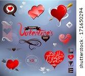 st valentines related design...   Shutterstock .eps vector #171650294