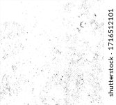 vector grunge black and white... | Shutterstock .eps vector #1716512101