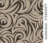 vector seamless pattern of... | Shutterstock .eps vector #1716543577