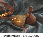 Small Ornamental Pumpkins And...