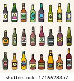 set of colorful icons of... | Shutterstock .eps vector #1716628357