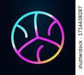 basket ball nolan icon. simple...