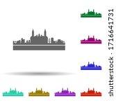 lima detailed skyline multi...