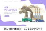 air pollution  environmental...   Shutterstock .eps vector #1716644044