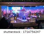 new york  ny usa  december 2017 ... | Shutterstock . vector #1716756247