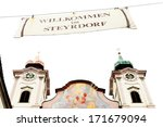 parish church sankt michael ... | Shutterstock . vector #171679094