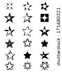 stars | Shutterstock .eps vector #171680321