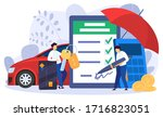 car leasing and purchase... | Shutterstock .eps vector #1716823051