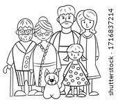 Family Of Five  Grandma ...