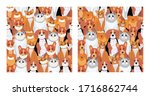 pets patterns. pets in medical... | Shutterstock .eps vector #1716862744
