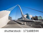 Samuel Beckett Bridge Dublin...