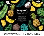 Pineapples  Banana  Coconut An...