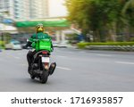 Motorcycle Drivers Rush To...