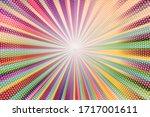 pop art colorful comics book...   Shutterstock .eps vector #1717001611