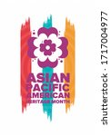 asian pacific american heritage ...   Shutterstock .eps vector #1717004977