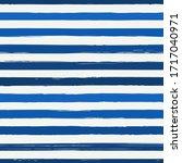 brush strokes seamless pattern. ... | Shutterstock .eps vector #1717040971