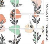 vector template in modern...   Shutterstock .eps vector #1717049707