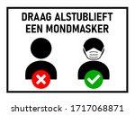 draag alstublieft een...   Shutterstock .eps vector #1717068871