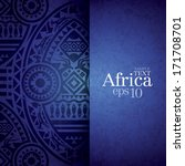 african background design... | Shutterstock .eps vector #171708701