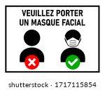 Veuillez Porter Un Masque...