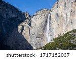 Mountains And Falls Yosemite...