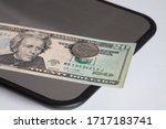 Twenty Dollars Banknote And 25...